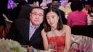 67岁刘銮雄带妻二人晚餐,38岁第一富婆甘比颜值再度飞升